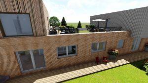 Terrassenbereiche WE 2 und WE 5